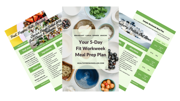 Your 5-Day Fit Workweek Meal Prep Plan