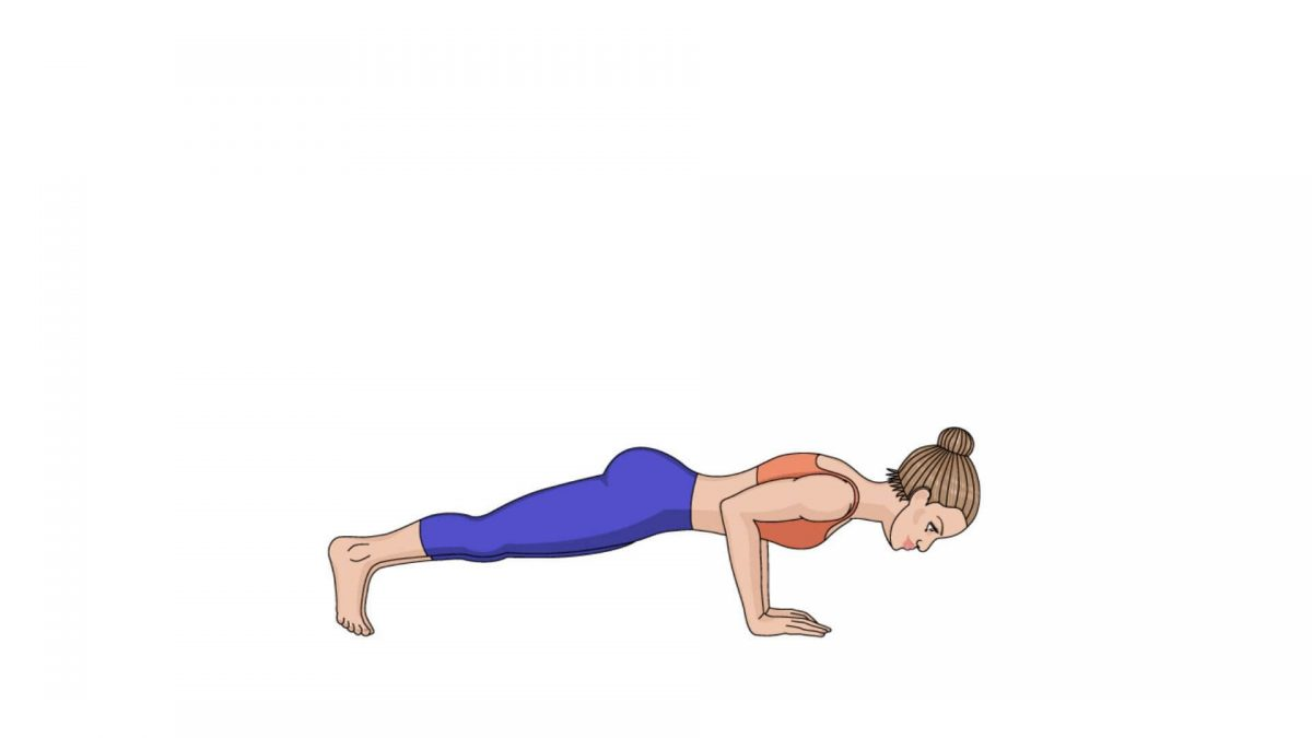 Four-Limbed Staff Pose (Chaturanga Dandasana)