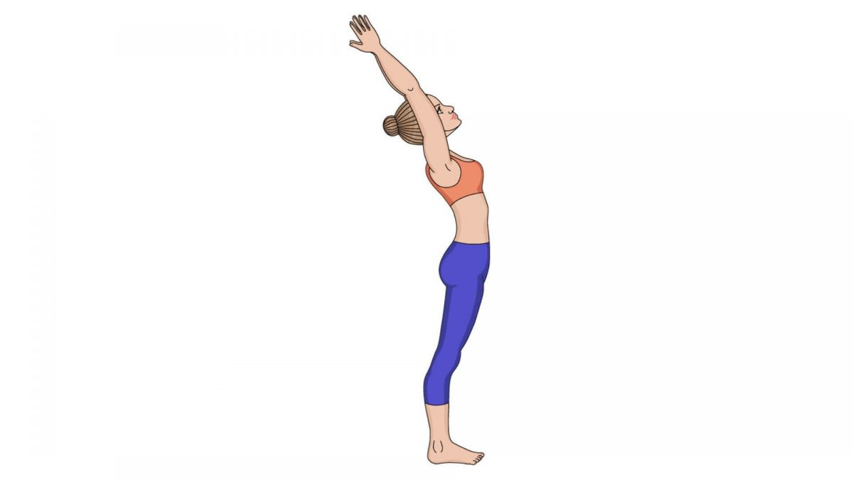 Upward Salute Pose (Urdvha Hastasana)