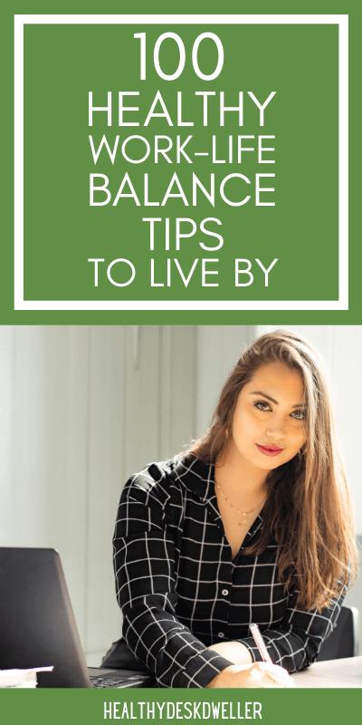 work-life balance tips