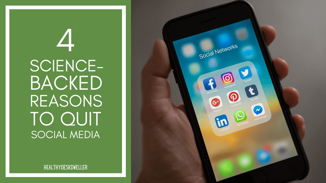 4 Science-Backed Reasons to Quit Social Media (At Least Temporarily)